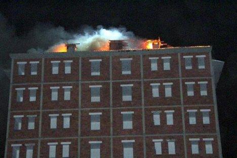 İtfaiyenin Merdiveni yangına yetişemedi