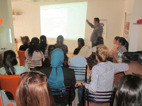Kamer'li Kadınlara Girişimcilik Eğitimi