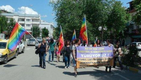 LGBTİ'ler Dersim'de Yürüdü