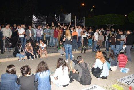 Maden Faciasına Adana'dan Protesto