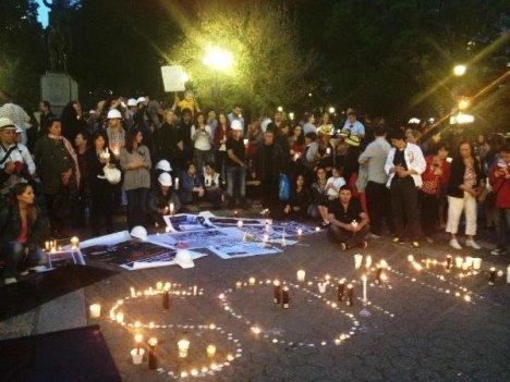 New York'ta Soma İçin Saygı Duruşu