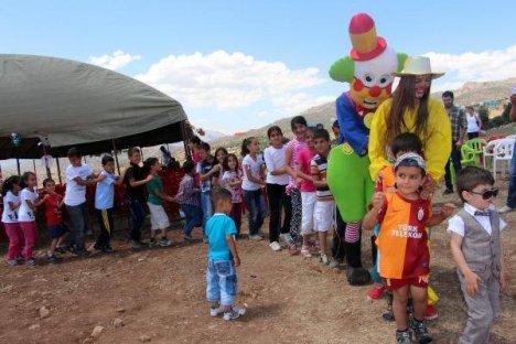 Şırnak'ta Çocuk Festivali Düzenlendi
