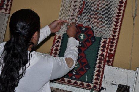 Şırnak'ta 'Jirki Kilimi' yaşatılıyor