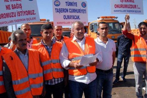 Siverek Kararayolu İşçilerinden Kadro Talebi