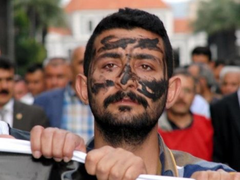 Soma protestosuna Toma'lı müdahale
