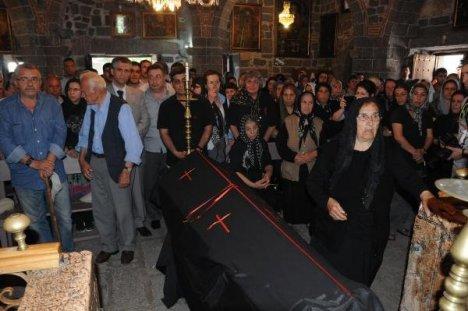 Son Ermeniye Süryani Kilisesi'nde Veda