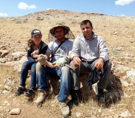 Suriye Sınırında 'Çöl Varanı' Yakalandı