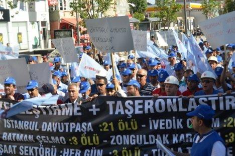 Tpao İşçileri Özelleştirmeye Karşı Yürüdü