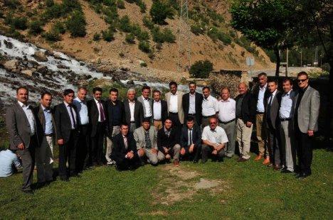 Van Halk Eğitim Merkezi Müdürleri Çatak'ta Toplandı