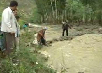 Yüksekova Aşağı Öveç Köyü su baskını 1