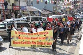 Şemdinli'de Kurdi-Der anadil bayramını kutladı