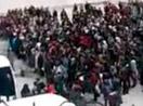 Şemdinli'de öğrenciler 18 mart etkinliklerini protesto etti