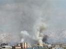 Yüksekova'da birçok ev yanıyor