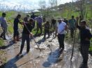 Yasağa rağmen köylerde hayat devam ediyor