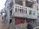 Yüksekova'ya dönen vatandaşlar enkaz yığını ile karşılaştı