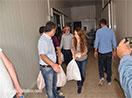 HDP'li vekiller Yüksekova'da gıda paketi dağıttı