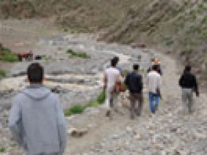 Yüksekova'da sel felaketi: 800 koyun telef oldu