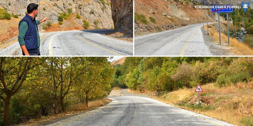 Dağlıca köyü asfalt yola kavuştu