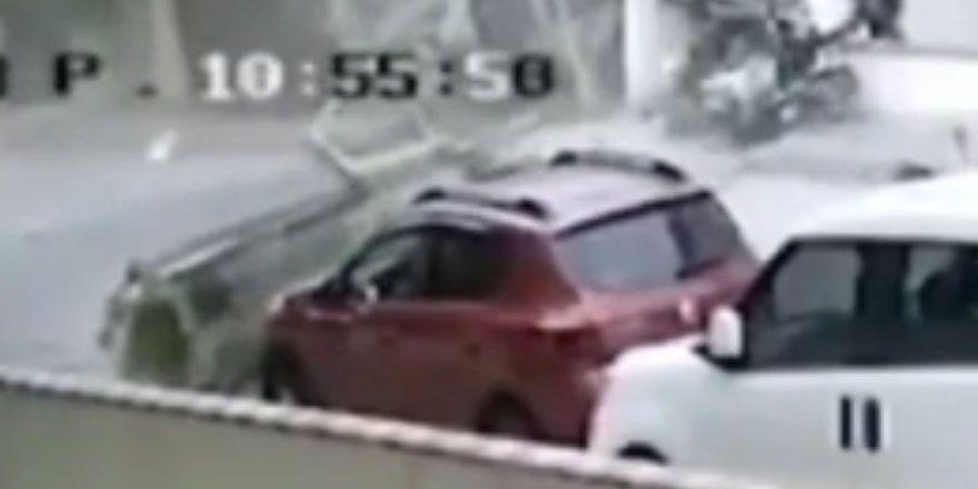 İstanbul Sancaktepe'de helikopterin düşme anı kamerada
