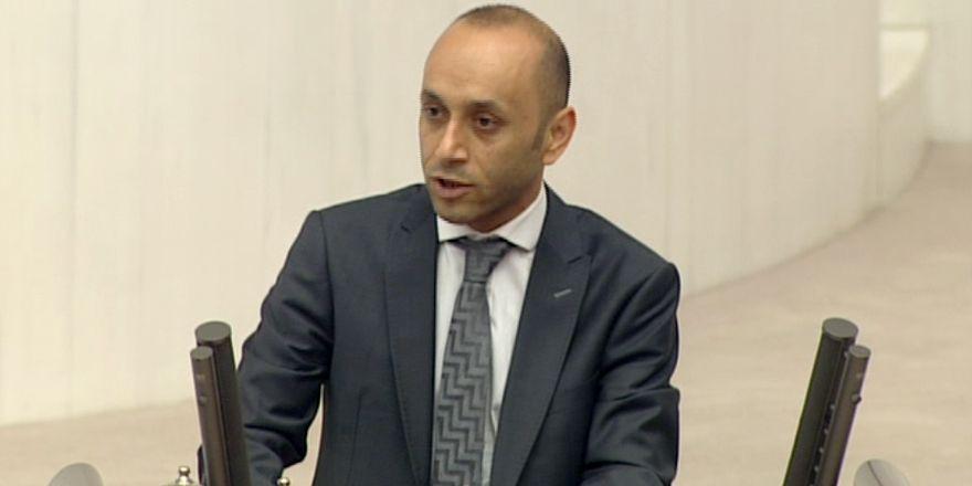 HDP'li Dede, mecliste 'Hakkari'nin sorunlarını' anlattı