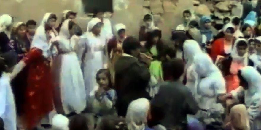 1980'li yıllarda bir Hakkari düğünü