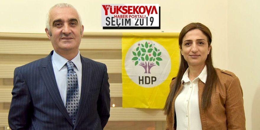HDP Yüksekova Belediye Eş Başkan Adayları Remziye Yaşar ve İrfan Sarı ile söyleşi