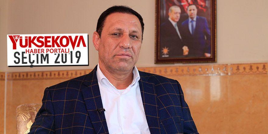 Ak Parti Derecik Belediye Başkan Adayı Ekrem Çetinkaya ile söyleşi