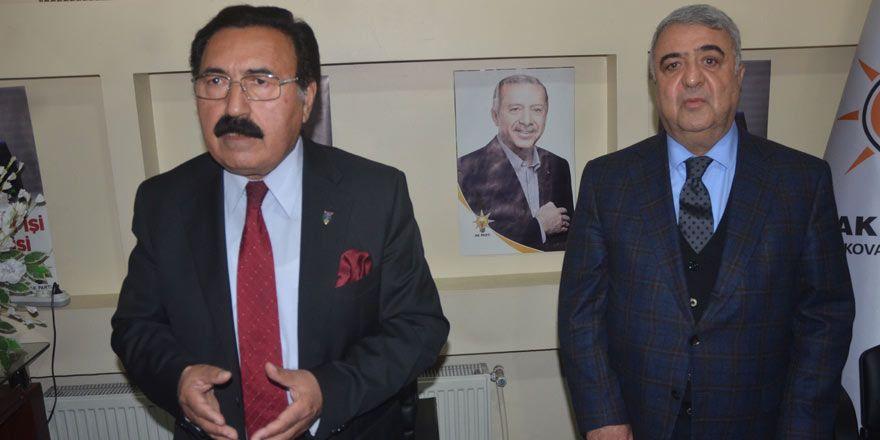 HDP'li Canan'dan AK Parti adayı Zeydan'a ziyaret