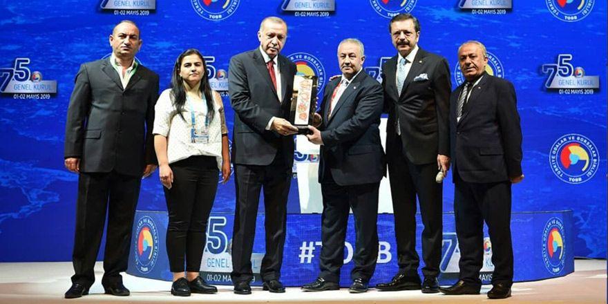 YÜTSO Projesi Türkiye birincisi oldu