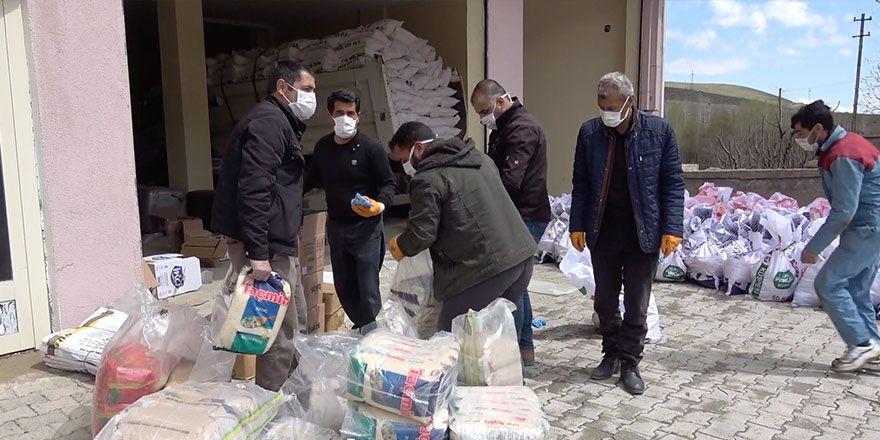 Esendere Belediyesi'nden 500 aileye gıda yardımı