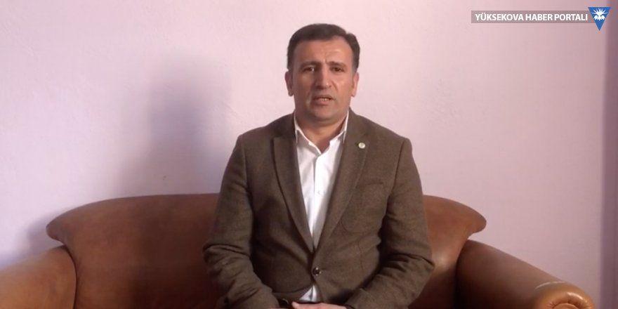 HDP Yüksekova Eş Başkanı Akdoğan'dan çağrı: Evden çıkmayın