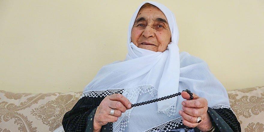 Yüksekovalı Neciba anne 7 yıldır oruç tutuyor