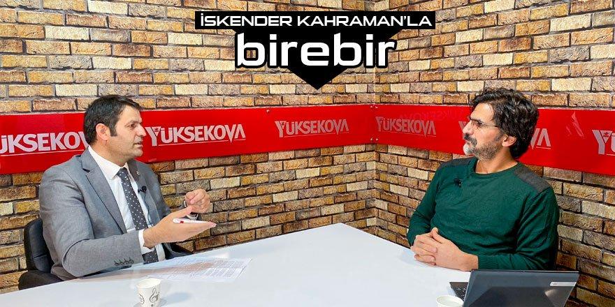 Vedat Çoğaç: Yüksekova esnafı kira ödeyemiyor